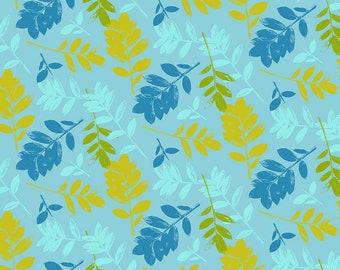 Mod Cloth by Sew Kind of Wonderful  - ZZ Leaf Earth SK007.EARTH - Cotton Quilt Fabric - Fat Quarter fq BTHY Yard