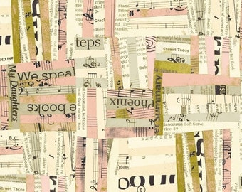 Wish by Carrie Bloomston for Windham Fabrics - Woven - Millennial Pink - 51741-4 - Cotton Quilt Fabric FQ BTHY Yard 8-21