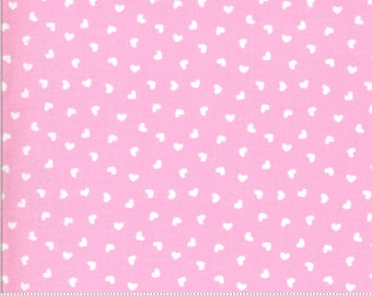 Be Mine by Stacy Iest Hsu for Moda - Sweetness - Sweet Nothings - Pink - 20717 12 - 100% Cotton Quilt Fabric - Choose your Size K