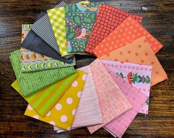 """Meadowland Quilt Kit by Then Came June - Large Size 64"""" x 64"""""""
