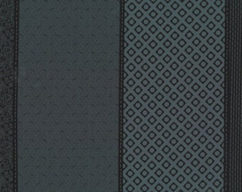 Low Volume Lollies by Jen Kingwell Designs for Moda - Charcoal - Black - 18200 24 - 1/2 Yard Cotton Quilt Fabric