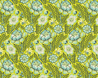 Spirit Animal by Tula Pink for Free Spirit - Petal Heads - Sunkissed - Cotton Quilt Fabric 8-21B