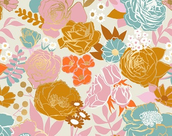 SALE Rise by Melody Miller of Ruby Star Society for Moda - Grow - Shell - RS0012 11M - Select a Size - Cotton Quilt Fabric K