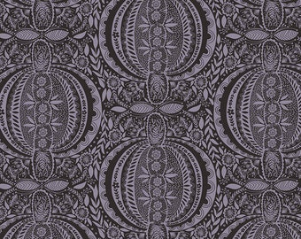 Love Always by Anna Maria Horner for Free Spirit - Propagate - Midnight - PWAM006 - Select a Size - Cotton Quilt Fabric