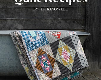 Quilt Recipes Pattern Book by Jen Kingwell