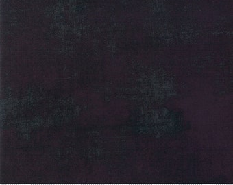 Basicgrey - Grunge for Moda - Black Dress 30150 165 - Select your Size - 1/2 yard or full yard - Cotton Quilt Fabric