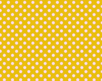 All Stars by Tula Pink for Free Spirit - Pom Poms - Marigold - Cotton Quilt Fabric - Choose Your Size