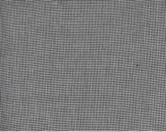 Low Volume Houndstooth Charcoal Grey Woven 18201 22 by Jen Kingwell for Moda - FQ Fat Quarter BTHY Yard - Cotton Quilt Fabric