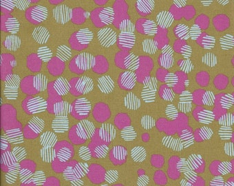 Vestige by Bookhou for Anna Maria Horner's Conservatory for Free Spirit - Woven Dots - Petal - 1/2 yard Cotton Quilt Fabric