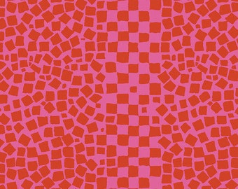Kaffe Fassett Collective - Brandon Mably Chips Rose Red - PWBM073 - FQ Fat Quarter BTHY Yard -100% Cotton Quilt Fabric 1021