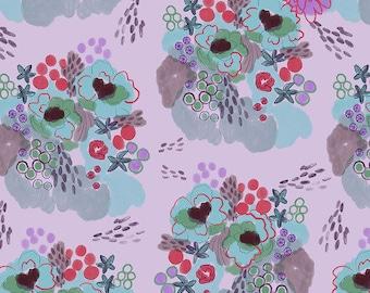 Flower Market by Courtney Cerruti - Anna Maria's Conservatory by Free Spirit - Flowerfield - Garden - BTHY Yard - Cotton Quilt Fabric 9-21