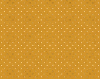 Add It Up by Alexia Abegg of Ruby Star Society for Moda - Basic Dots - Cactus - Yellow - RS4005 17 - Select a Size - Cotton Quilt Fabric K