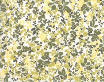 Regent Street Lawn 2016 by Moda - Floral Kew - Ivory - 1/2 Yard Cotton Lawn Fabric 921