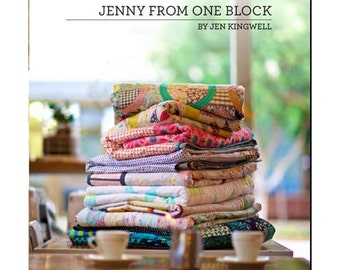 Jenny from One Block Quilt Pattern Book by Jen Kingwell Designs