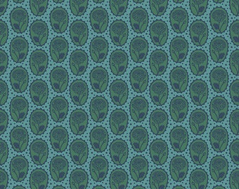 Love Always by Anna Maria Horner for Free Spirit - Locket - Ocean - PWAM018 - Select a Size - Cotton Quilt Fabric
