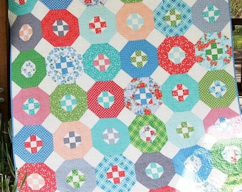 Hideaway Quilt Pattern by Cluck Cluck Sew - Print Pattern