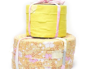 Shades of Yellow - Aino Rag Rug yarn by Lankava