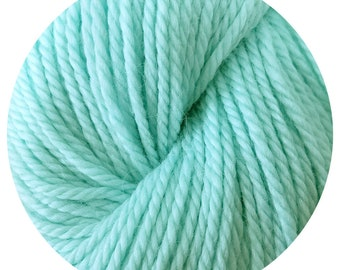 great lakes weepaca by Big Bad Wool - light worsted yarn - 50% fine washable merino and baby alpaca - 95 yards