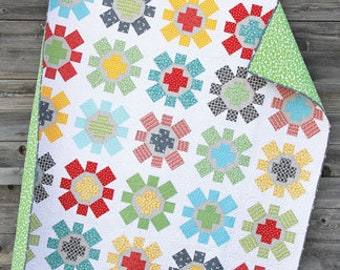 Spin Cycle Quilt Pattern by Cluck Cluck Sew - Print Pattern