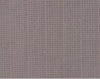Compositions by Basicgrey for Moda - 10 Key - Stone - Fat Quarter - FQ - Cotton Quilt Fabric 117