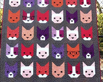 The Kittens by Elizabeth Hartman - Print Pattern
