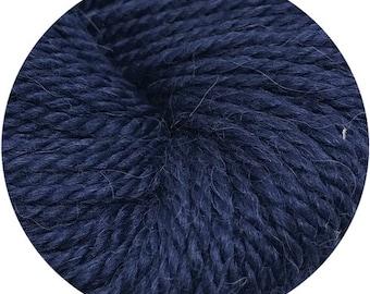 big boy blue weepaca by Big Bad Wool - light worsted yarn - 50% fine washable merino and baby alpaca - 95 yards
