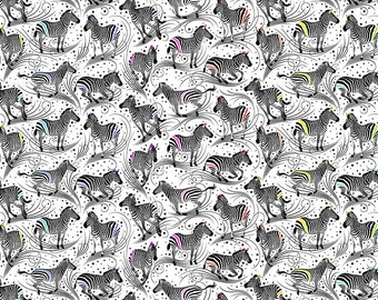 Linework by Tula Pink - Read Between the Lines - Paper White - Select a Size - Cotton Quilt Fabric 8-21+B