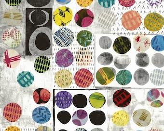 Wabi Sabi Polka Dot by Marcia Derse -  52258D-X  - 100% Cotton Quilt Fabric  BTYH or By the Full Yard 8-21