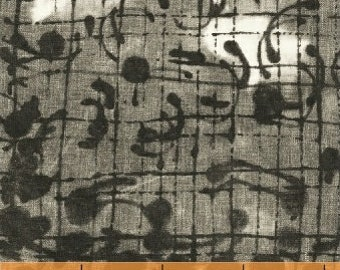 The Opposite by Marcia Derse for Windham Fabrics - Laughing Gravy - Dark - 51071-2 - Cotton Quilt Fabric - FQ BTHY Yard 8-21