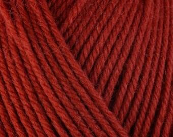 Burnt Orange Kabocha 3327 Lot 7C8836 Berroco Ultra Wool Yarn
