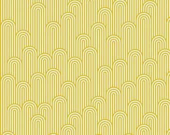 Zuma by Tula Pink for Free Spirit - Tower 7 - Glowfish - 1/2 Yard Cotton Quilt Fabric 8-21B