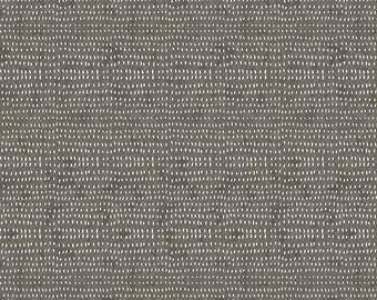 Seeds by Cori Dantini  - Grey CD012.XSMOKE  - Cotton Quilt Fabric - Fat Quarter fq BTHY By the half yard