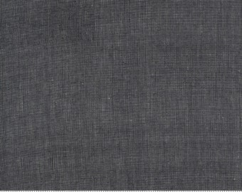 Low Volume Weave Charcoal Grey Woven 18201 26 by Jen Kingwell for Moda - FQ Fat Quarter BTHY Yard - Cotton Quilt Fabric