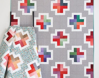 Positive Quilt Pattern by Cluck Cluck Sew - Print Pattern