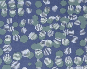 Vestige by Bookhou for Anna Maria Horner's Conservatory for Free Spirit - Woven Dots - Fog - 1/2 yard Cotton Quilt Fabric