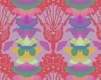 Hindsight by Anna Maria Horner for Free Spirit Fabrics - Ghost Nouveau - Lilac - FQ BTHY Yard - Cotton Quilt Fabric 9-21