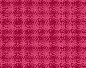 Jardin de la Reine Odile Bailloeul- Palace Maze - Rose Select a Size- FQ-half yard-full yard- FreeSpirit Cotton Quilt Fabric K