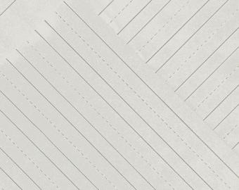 Jot By Heather Givens Crimson Tate Penmanship Paper 50457-7 - 100% Cotton Quilt Fabric - FQ Fat Quarter BTHY Yard 1021