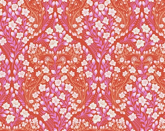 Monkey Wrench by Tula Pink for Free Spirit - Parrot Prattle - Mango - Cotton Quilt Fabric - Choose Your Size 8-21B