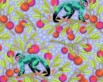 Monkey Wrench by Tula Pink for Free Spirit - Monkey Wrench - Dragonfruit - Cotton Quilt Fabric - Choose Your Size 8-21+B