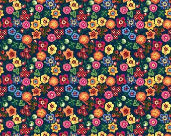 Sunday in the Country Nathalie Lete for Anna Maria's Conservatory - Handkerchief - Helga- FQ BTHY Yard Cotton Quilt Fabric 9-21