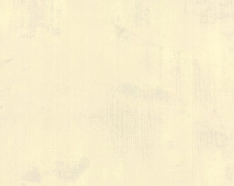 "108"" Grunge Manilla Cream White by Basic Grey for Moda - 11108 102  - 1/2 Yard - 100% Cotton Quilt Back Fabric"