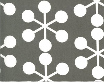 SALE Quotation by Zen Chic - Asterisk Graphite 1731 17 Select a Size - FQ, half or full yard- Moda Cotton Quilt Fabric K