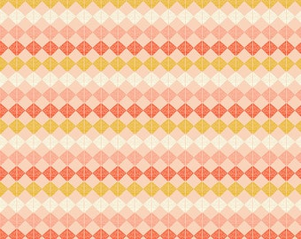 Mod Cloth by Sew Kind of Wonderful  - Beads Fire SK001.Fire- Cotton Quilt Fabric -Fat Quarter FQ BTHY Yard
