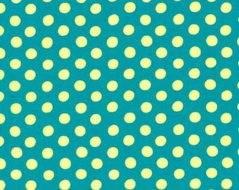 Kaffe Fassett - Spot GP70 Teal - Cotton Quilt Fabric - FQ Fat Quarter BTHY Yard 1021