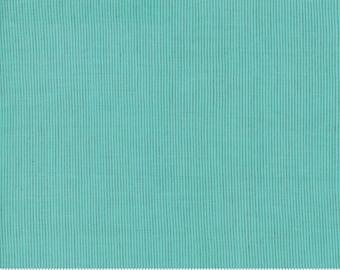 Grainline Wovens by Jen Kingwell for Moda - Grainline - Bubble Gum - Turquoise - 18180 16 - Select a Size - Cotton Quilt Fabric