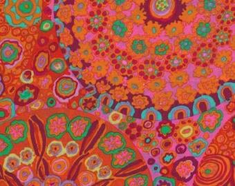 Kaffe Fassett - GP92, Millefiore Tomato Red - FQ Fat Quarter BTHY Yard cotton quilt fabric 1021