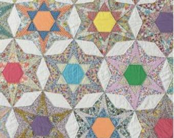 PRE-ORDER - 4 O'Clock In Peru Print Pattern by Louise Papas for Jen Kingwell Designs