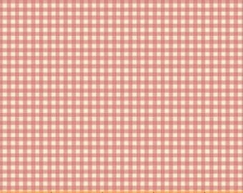 OOP Trixie by Heather Ross Windham Fabrics - 50900-9 - Gingham - Pink - Cotton Quilt Fabric - FQ BTHY Yard 921