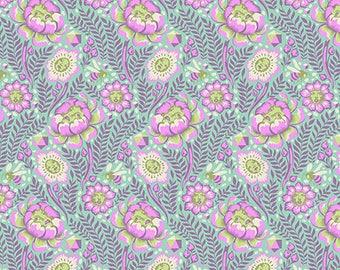 Spirit Animal by Tula Pink for Free Spirit - Petal Heads - Lunar Glow - Cotton Quilt Fabric 8-21B